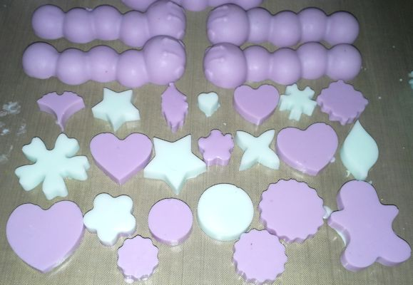 Mini moulds2 soap